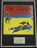 THE CLASH - Framed LP Cover - GIVE EM ENOUGH ROPE